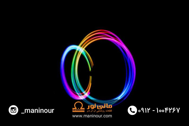 رنگ پروژکتور LED