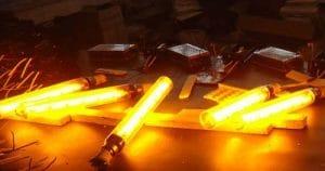 لامپ های سدیم با فشار کم