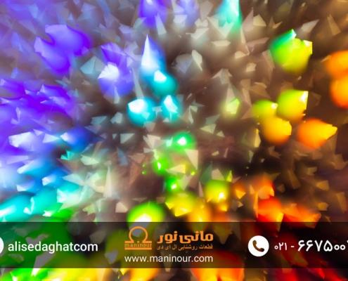 پروژکتور LED رنگی
